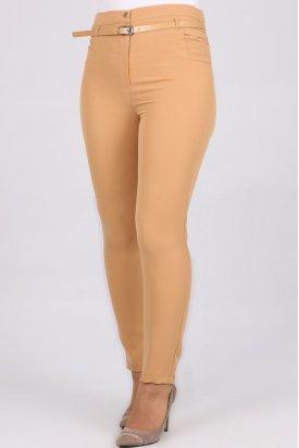 1117 Kemerli Klasik Bilek Pantalon-Bal Köpüğü